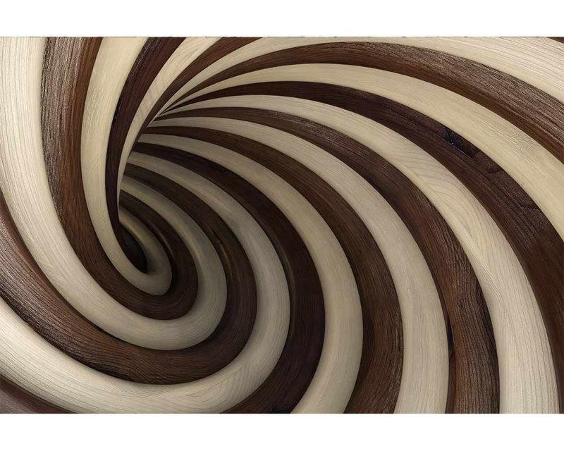 Vliesové fototapety na zeď 3D zakroucený tunel | MS-5-0277 | 375x250 cm - Fototapety vliesové