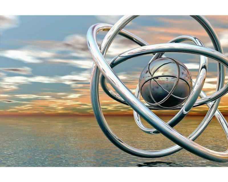 Vliesové fototapety na zeď Abstraktní koule | MS-5-0280 | 375x250 cm - Fototapety vliesové