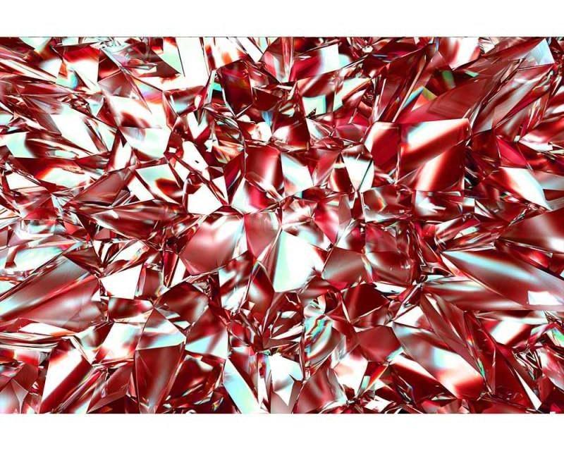Vliesové fototapety na zeď Červený krystal | MS-5-0281 | 375x250 cm - Fototapety vliesové
