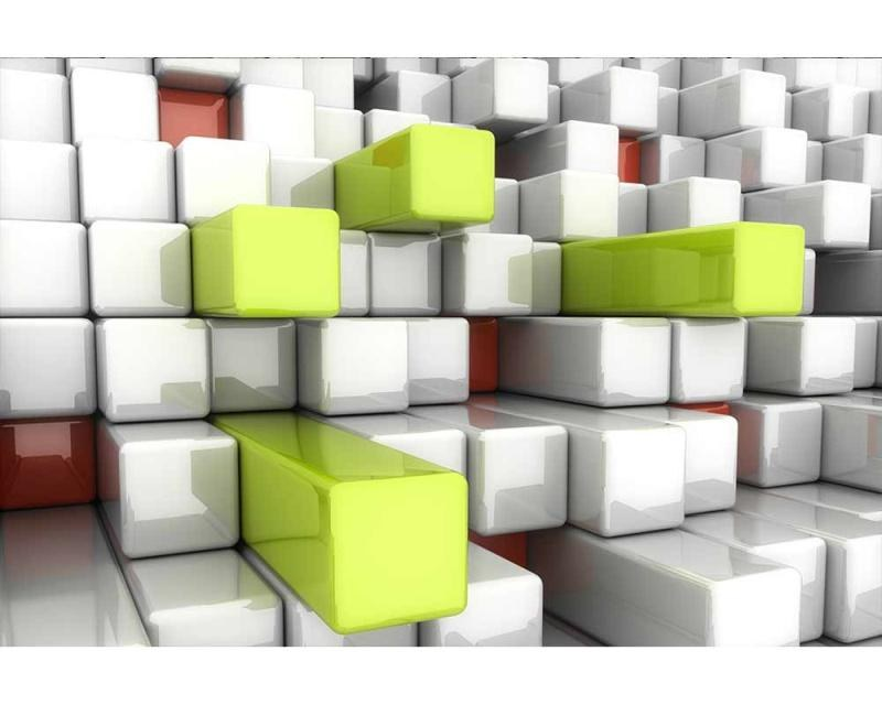 Vliesové fototapety na zeď 3D kostky | MS-5-0286 | 375x250 cm - Fototapety vliesové