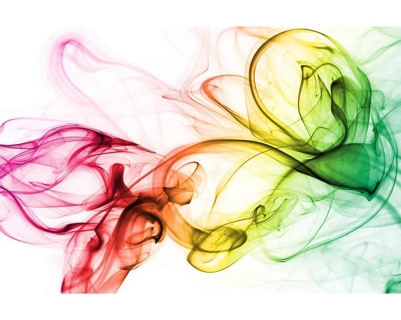 Vliesové fototapety na zeď Teplý kouř barev | MS-5-0289 | 375x250 cm - Fototapety vliesové