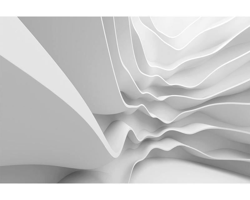 Vliesové fototapety na zeď 3D futuristická vlna | MS-5-0295 | 375x250 cm - Fototapety vliesové