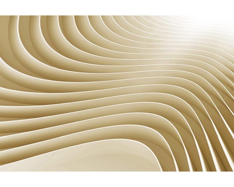 Vliesové fototapety na zeď 3D vlny | MS-5-0296 | 375x250 cm - Fototapety vliesové