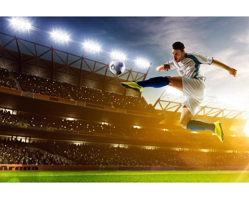 Vliesové fototapety na zeď Fotbalový hráč | MS-5-0306 | 375x250 cm - Fototapety vliesové