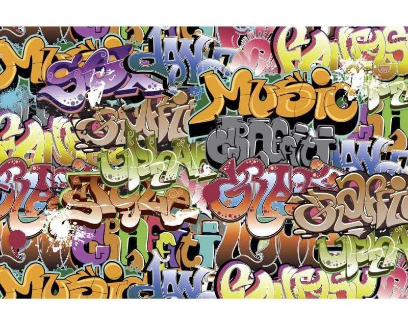 Vliesové fototapety na zeď Graffiti | MS-5-0322 | 375x250 cm - Fototapety vliesové
