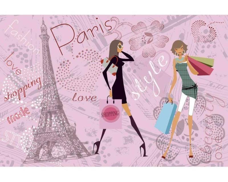 Vliesové fototapety na zeď Pařížský styl | MS-5-0331 | 375x250 cm - Fototapety vliesové