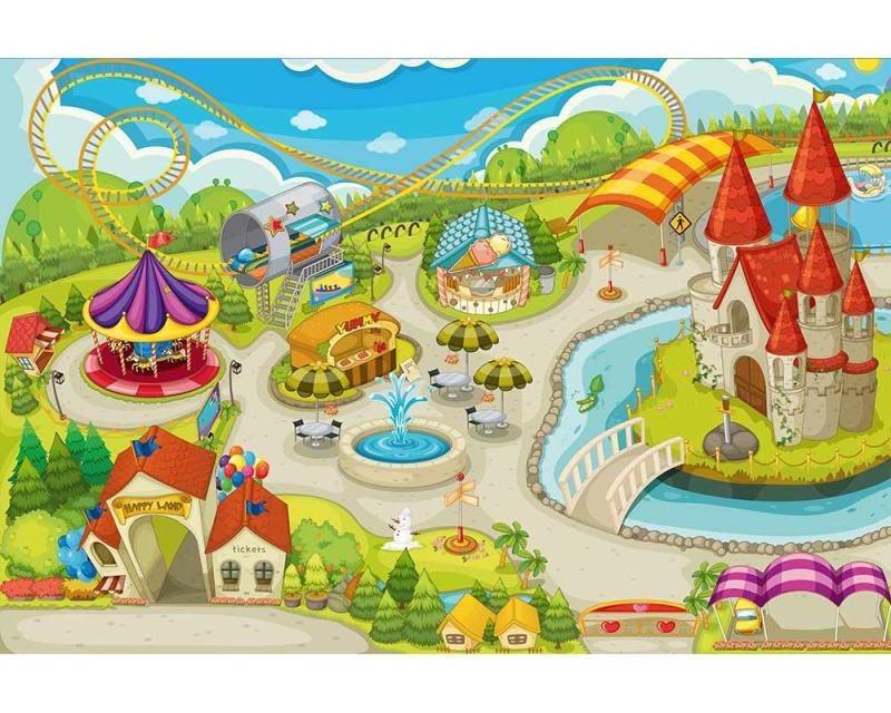 Vliesové fototapety na zeď Zábavní park | MS-5-0337 | 375x250 cm - Fototapety vliesové