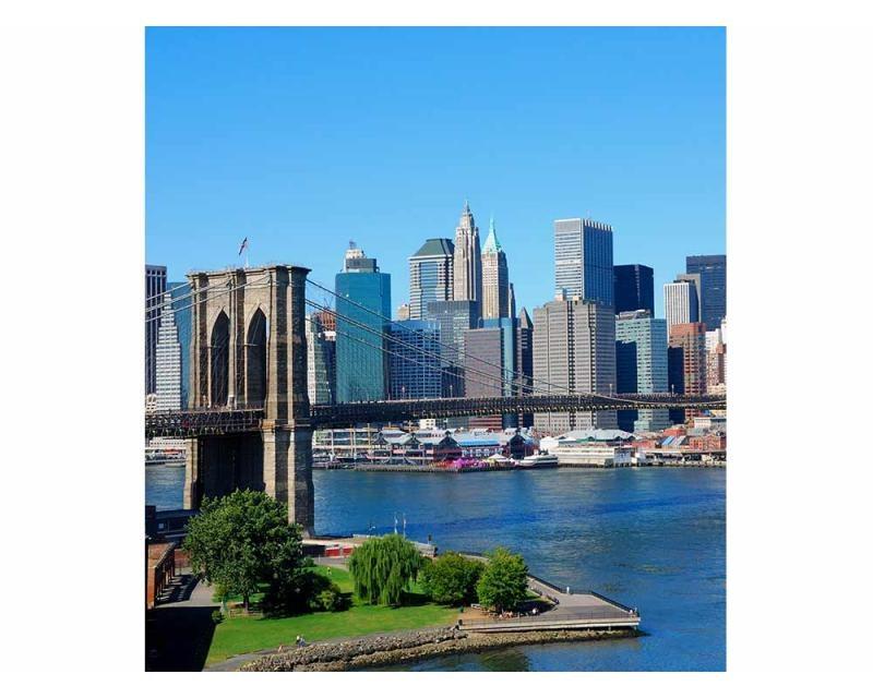 Vliesové fototapety na zeď Brooklyn | MS-3-0001 | 225x250 cm - Fototapety vliesové