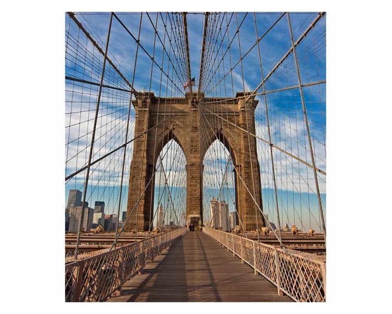Vliesové fototapety na zeď Brooklynský most | MS-3-0005 | 225x250 cm - Fototapety vliesové