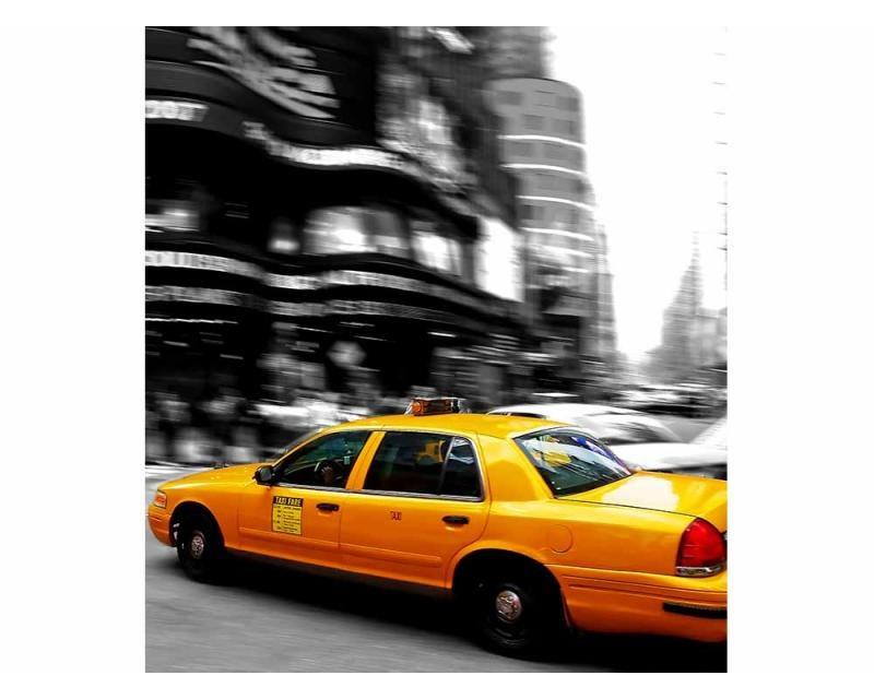 Vliesové fototapety na zeď Žluté taxi | MS-3-0007 | 225x250 cm - Fototapety vliesové
