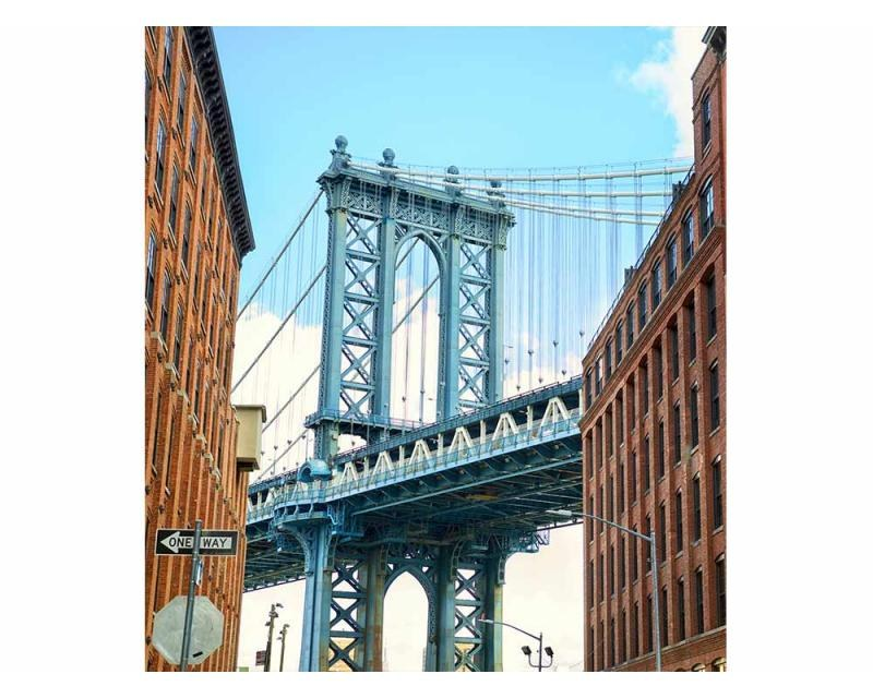 Vliesové fototapety na zeď Most v Manhattanu | MS-3-0012 | 225x250 cm - Fototapety vliesové