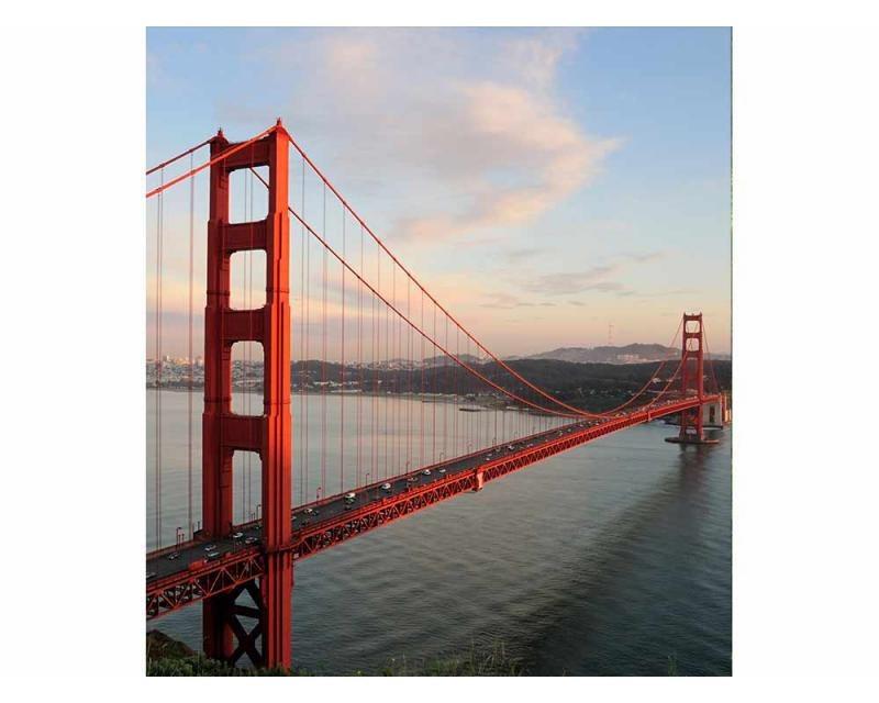 Vliesové fototapety na zeď Most Golden Gate | MS-3-0015 | 225x250 cm - Fototapety vliesové
