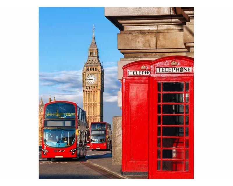Vliesové fototapety na zeď Big Ben | MS-3-0018 | 225x250 cm - Fototapety vliesové
