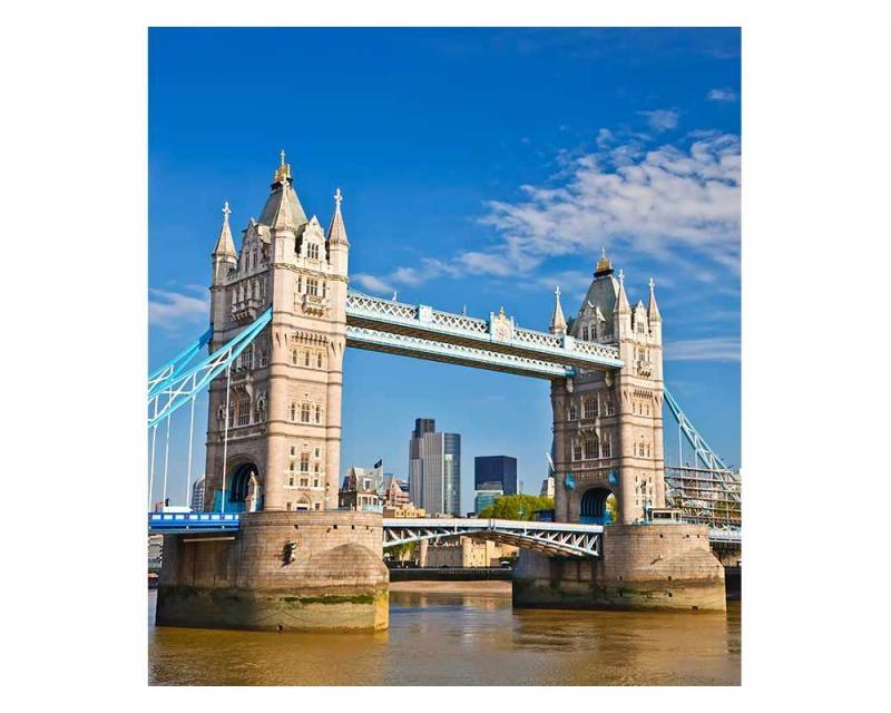 Vliesové fototapety na zeď Tower Bridge | MS-3-0019 | 225x250 cm - Fototapety vliesové