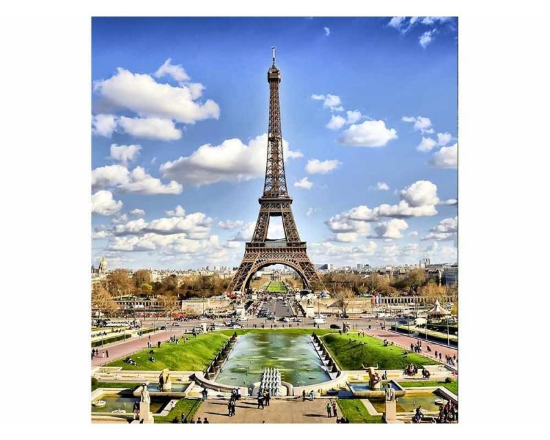 Vliesové fototapety na zeď Paříž | MS-3-0025 | 225x250 cm - Fototapety vliesové