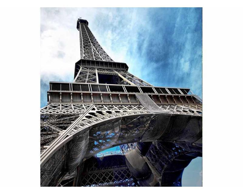 Vliesové fototapety na zeď Eiffelová věž | MS-3-0026 | 225x250 cm - Fototapety vliesové
