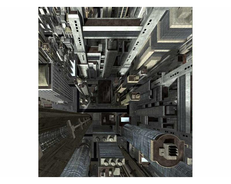 Vliesové fototapety na zeď Mrakodrapy | MS-3-0030 | 225x250 cm - Fototapety vliesové