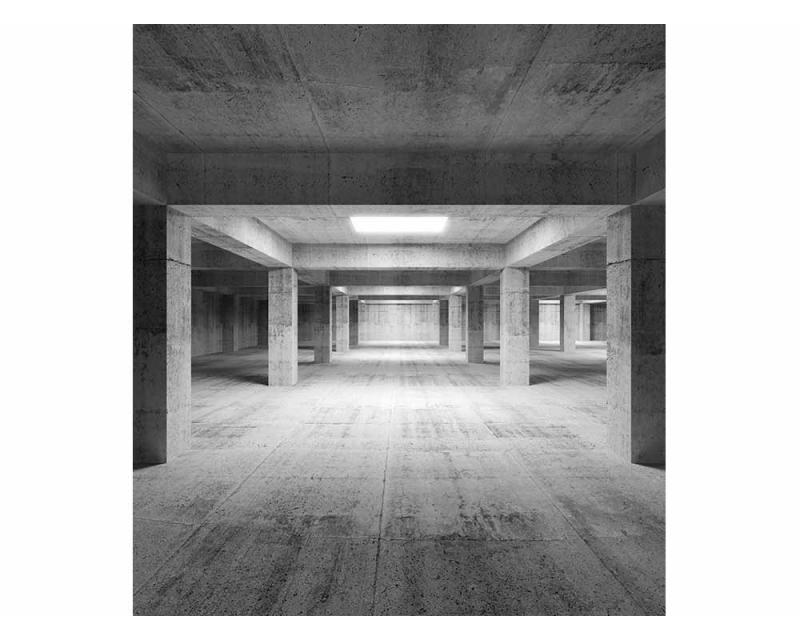 Vliesové fototapety na zeď 3D průmyslová hala | MS-3-0035 | 225x250 cm - Fototapety vliesové