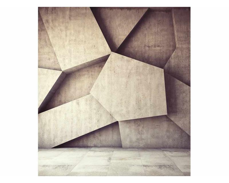 Vliesové fototapety na zeď 3D betonové pozadí | MS-3-0037 | 225x250 cm - Fototapety vliesové
