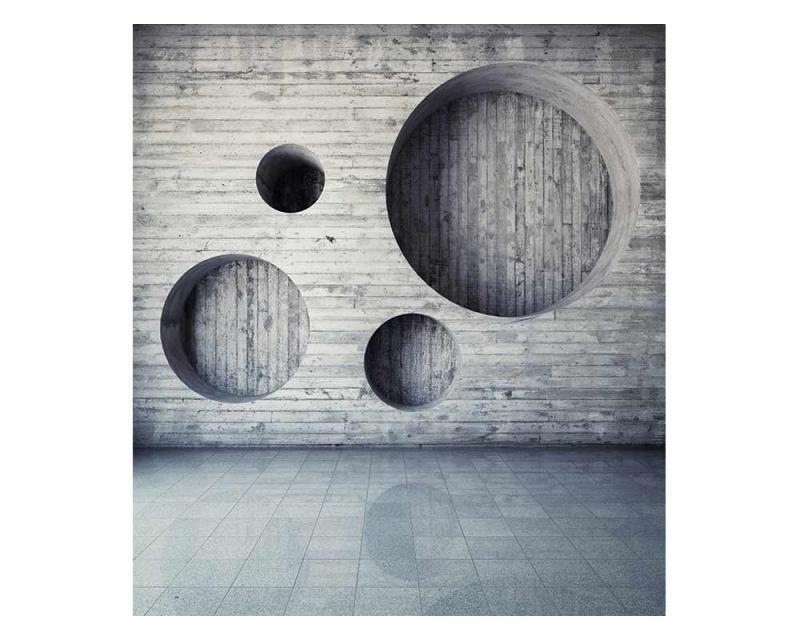 Vliesové fototapety na zeď 3D geometrické pozadí | MS-3-0038 | 225x250 cm - Fototapety vliesové
