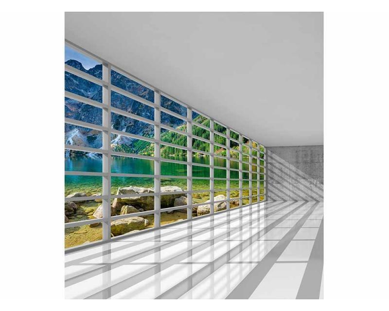 Vliesové fototapety na zeď Interiér s výhledem | MS-3-0039 | 225x250 cm - Fototapety vliesové