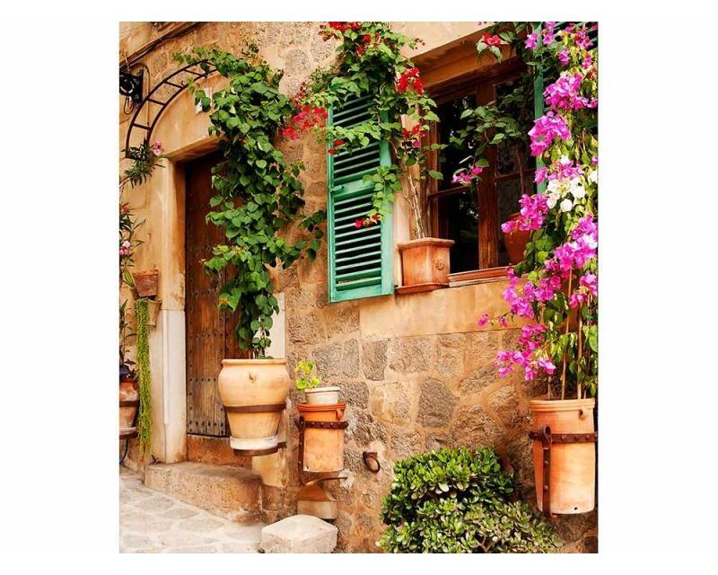 Vliesové fototapety na zeď Pouliční zahrada | MS-3-0046 | 225x250 cm - Fototapety vliesové