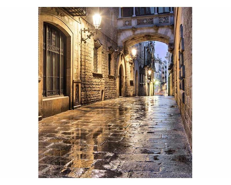 Vliesové fototapety na zeď Starověká ulice | MS-3-0048 | 225x250 cm - Fototapety vliesové