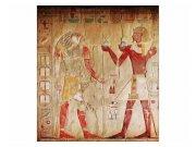 Vliesové fototapety na zeď Egyptská malba | MS-3-0052 | 225x250 cm Fototapety vliesové