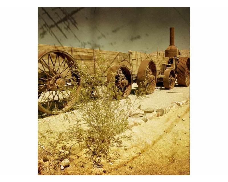 Vliesové fototapety na zeď Starý vagón | MS-3-0058 | 225x250 cm - Fototapety vliesové