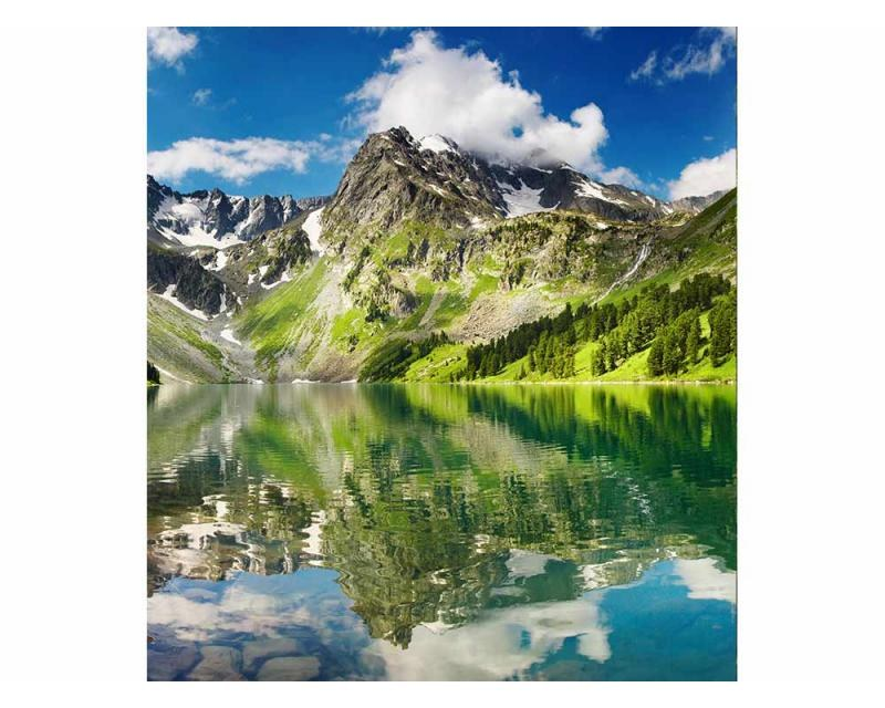 Vliesové fototapety na zeď Jezero | MS-3-0062 | 225x250 cm - Fototapety vliesové