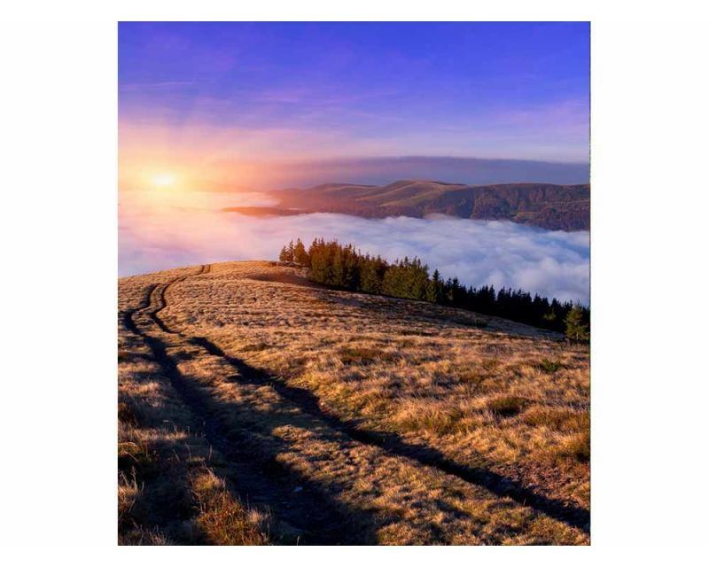 Vliesové fototapety na zeď Svítání na horách | MS-3-0063 | 225x250 cm - Fototapety vliesové