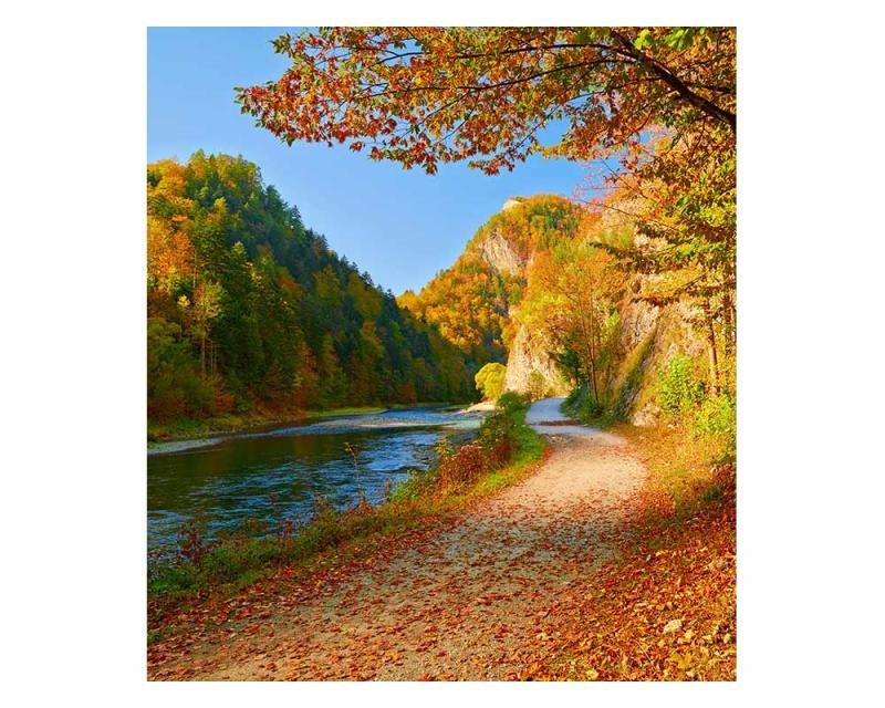 Vliesové fototapety na zeď Řeka Dunajec | MS-3-0069 | 225x250 cm - Fototapety vliesové