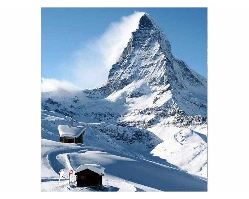 Vliesové fototapety na zeď Matterhorn | MS-3-0073 | 225x250 cm - Fototapety vliesové