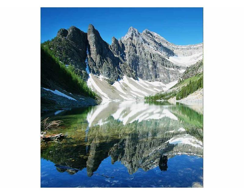 Vliesové fototapety na zeď Jezero Agnes   MS-3-0074   225x250 cm - Fototapety vliesové