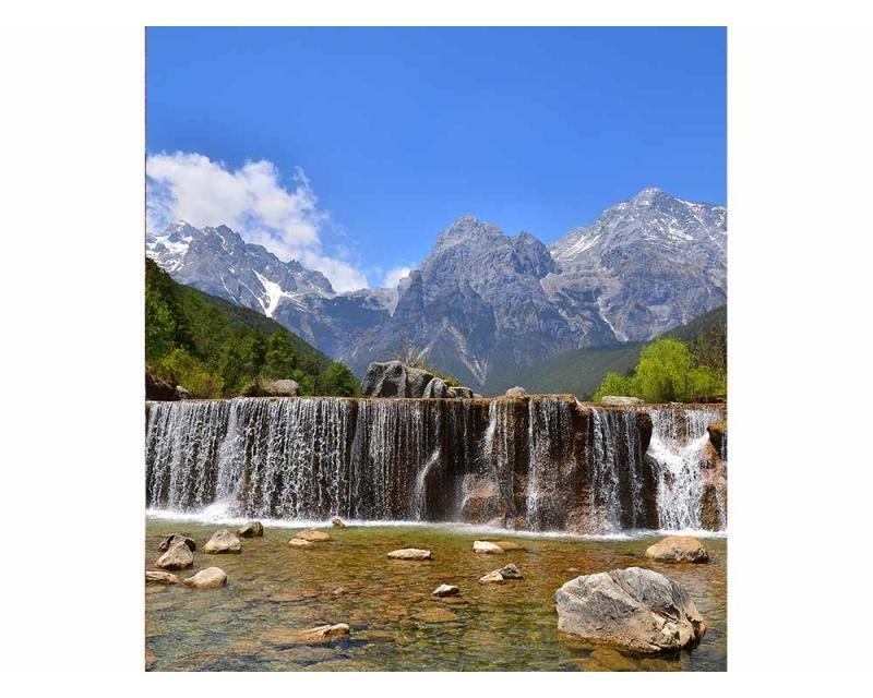 Vliesové fototapety na zeď Alpy | MS-3-0075 | 225x250 cm - Fototapety vliesové