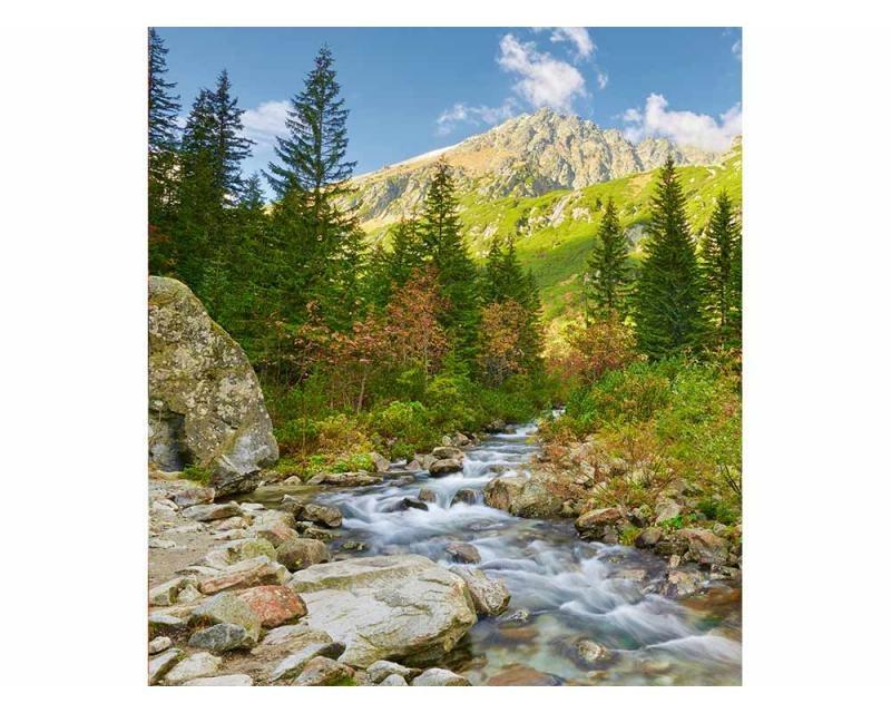 Vliesové fototapety na zeď Údolí | MS-3-0077 | 225x250 cm - Fototapety vliesové