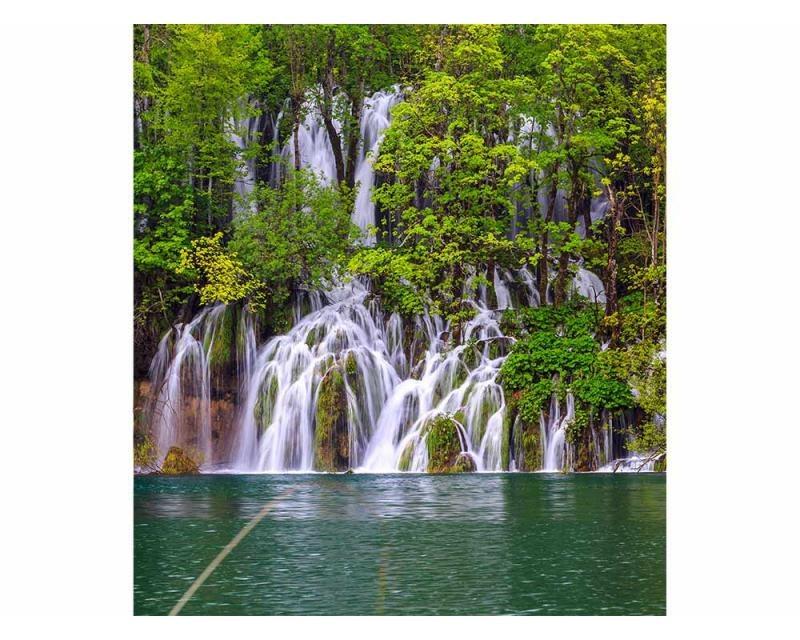 Vliesové fototapety na zeď Plitvická jezera | MS-3-0078 | 225x250 cm - Fototapety vliesové