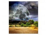 Vliesové fototapety na zeď Měsíc | MS-3-0185 | 225x250 cm Fototapety vliesové