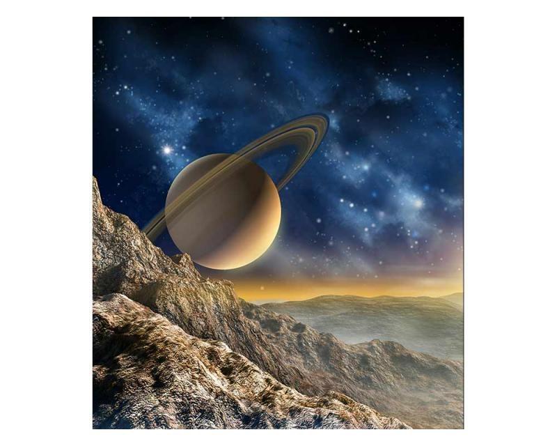 Vliesové fototapety na zeď Vesmír | MS-3-0187 | 225x250 cm - Fototapety vliesové