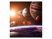 Vliesové fototapety na zeď Sluneční soustava | MS-3-0188 | 225x250 cm Fototapety vliesové