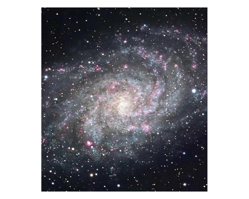 Vliesové fototapety na zeď Galaxie | MS-3-0189 | 225x250 cm - Fototapety vliesové
