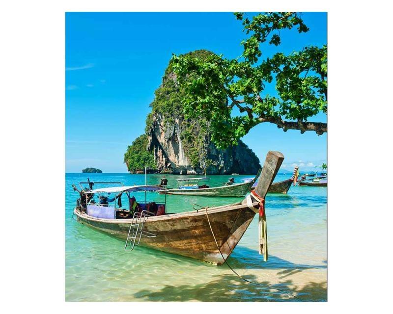 Vliesové fototapety na zeď Thajská loď | MS-3-0198 | 225x250 cm - Fototapety vliesové