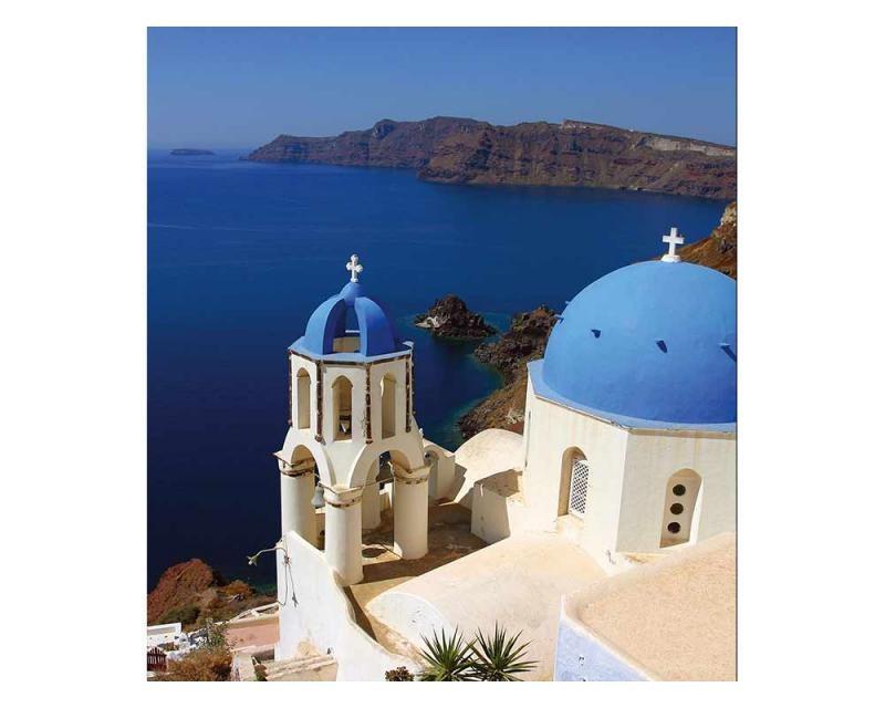 Vliesové fototapety na zeď Santorini | MS-3-0199 | 225x250 cm - Fototapety vliesové