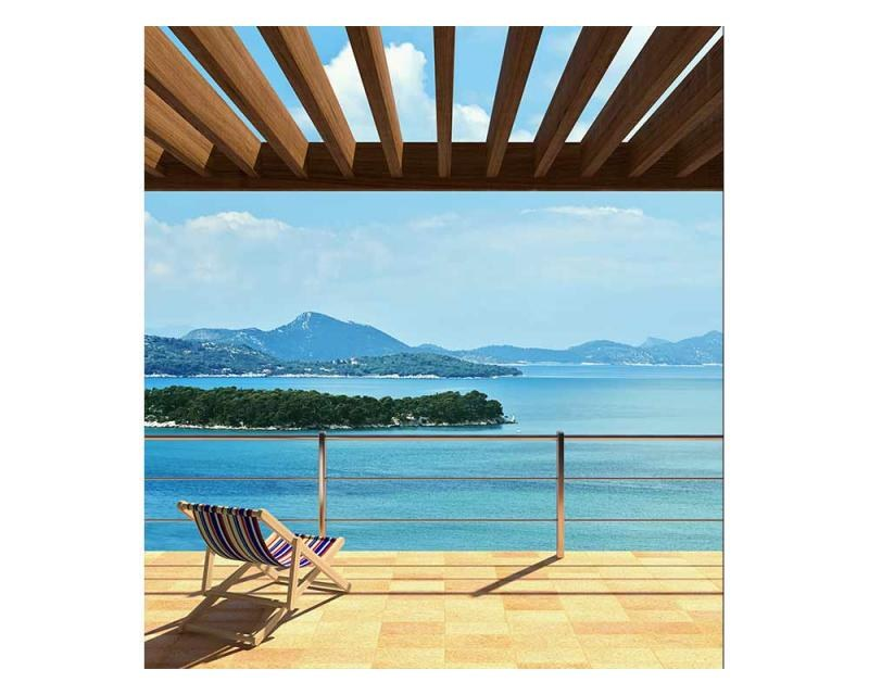 Vliesové fototapety na zeď Výhled na moře | MS-3-0201 | 225x250 cm - Fototapety vliesové
