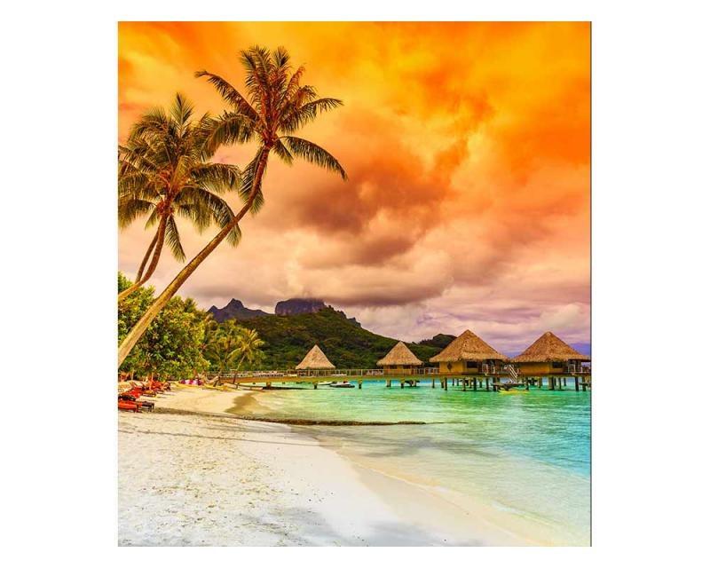 Vliesové fototapety na zeď Polynésie | MS-3-0211 | 225x250 cm - Fototapety vliesové