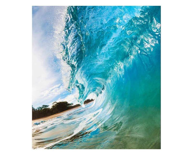 Vliesové fototapety na zeď Vlny oceánu | MS-3-0213 | 225x250 cm - Fototapety vliesové