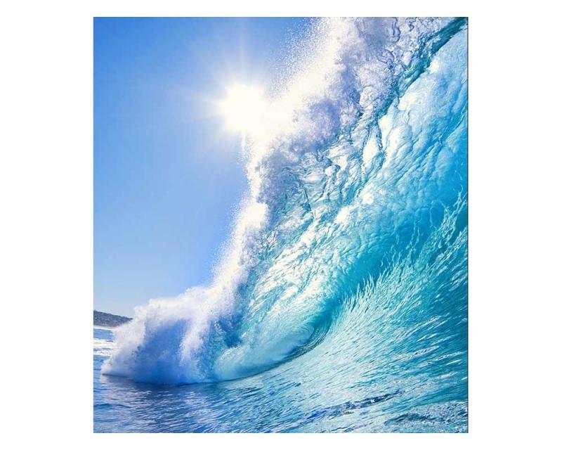 Vliesové fototapety na zeď Vlny | MS-3-0214 | 225x250 cm - Fototapety vliesové