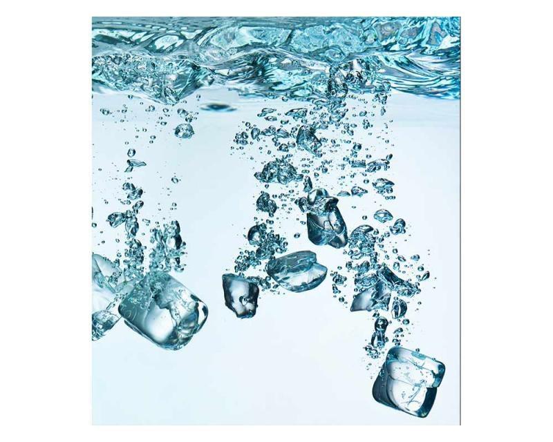 Vliesové fototapety na zeď Ledové kostky | MS-3-0237 | 225x250 cm - Fototapety vliesové