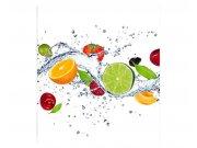 Vliesové fototapety na zeď Ovoce ve vodě | MS-3-0239 | 225x250 cm Fototapety vliesové