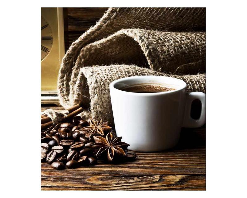 Vliesové fototapety na zeď Šálek kávy | MS-3-0245 | 225x250 cm - Fototapety vliesové